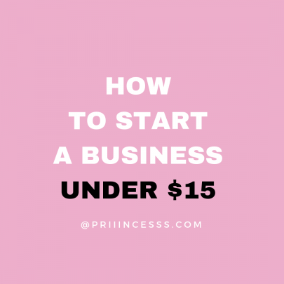 LEARN HOW TO START A BUSINESS UNDER $15 FOR FREE
