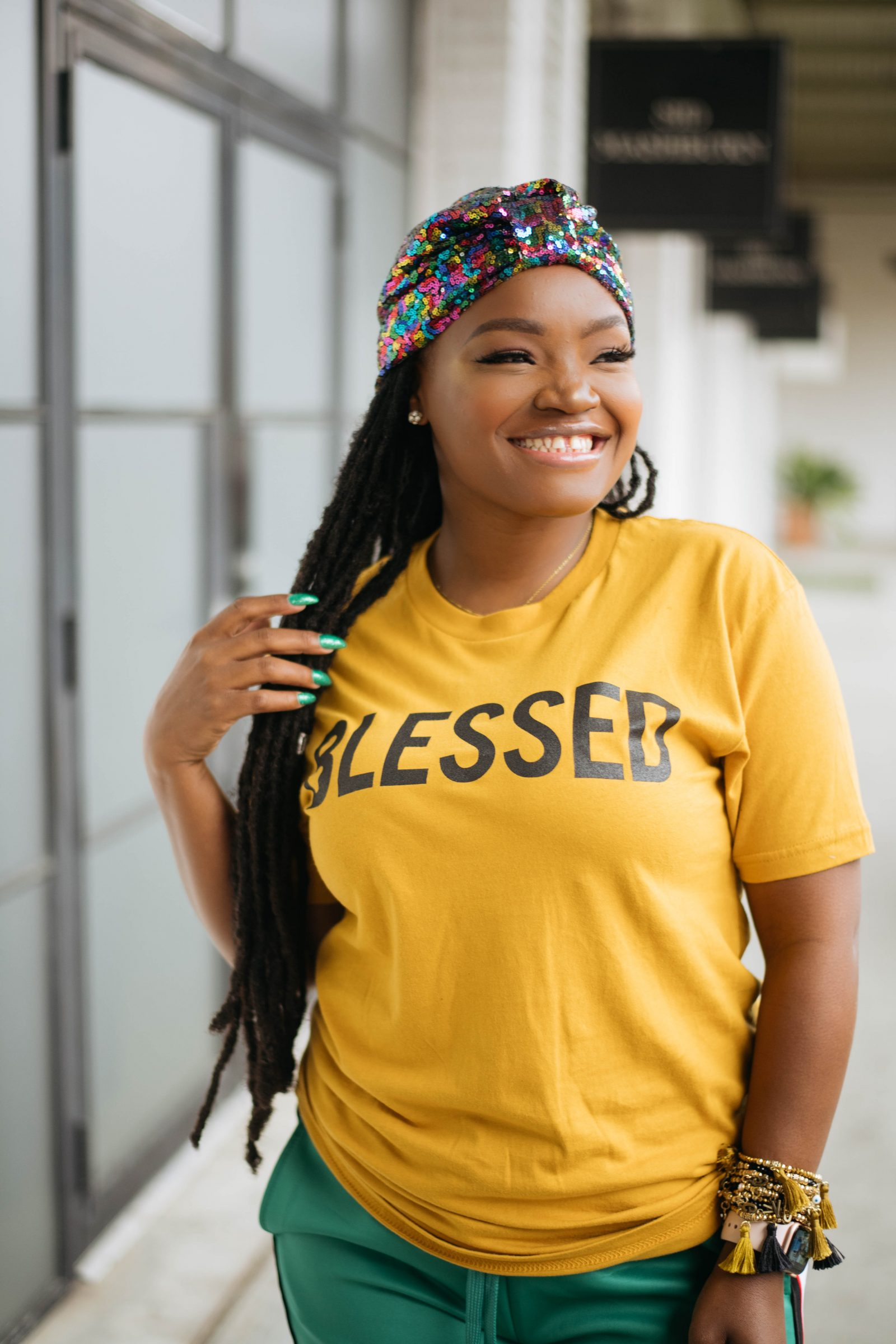 BECAUSE I AM BLESSED TSHIRT