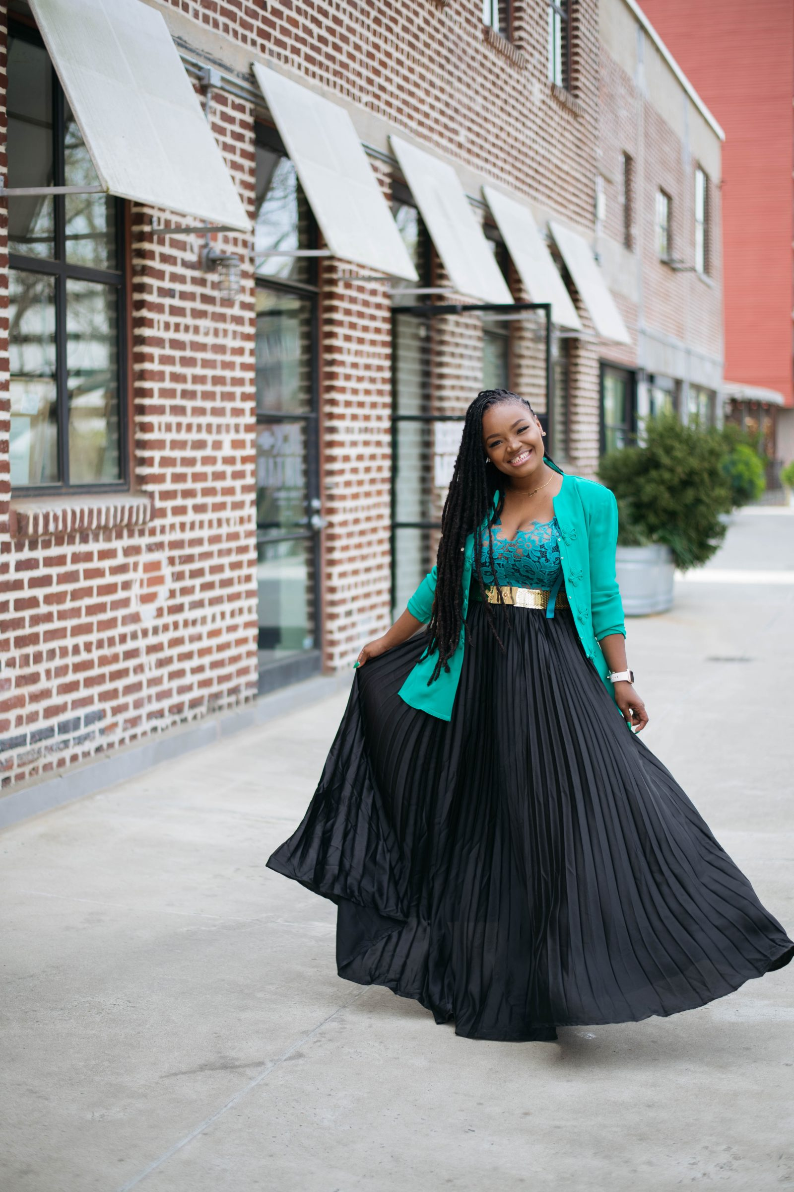 GROUP COACHING​ IS HERE MAXI SKIRT